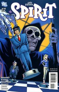 Cover for The Spirit (DC, 2007 series) #19