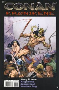 Cover Thumbnail for Conan Krønikene (Bladkompaniet / Schibsted, 2005 series) #12
