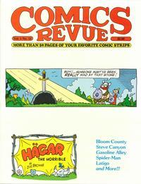 Cover Thumbnail for Comics Revue (Manuscript Press, 1985 series) #12