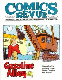 Cover Thumbnail for Comics Revue (Manuscript Press, 1985 series) #16