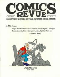 Cover Thumbnail for Comics Revue (Manuscript Press, 1985 series) #17