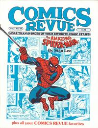 Cover Thumbnail for Comics Revue (Manuscript Press, 1985 series) #19