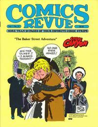 Cover for Comics Revue (Manuscript Press, 1985 series) #21