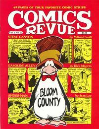 Cover for Comics Revue (Manuscript Press, 1985 series) #22