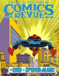 Cover Thumbnail for Comics Revue (Manuscript Press, 1985 series) #23