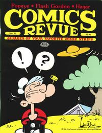 Cover for Comics Revue (Manuscript Press, 1985 series) #33