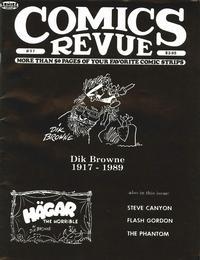 Cover Thumbnail for Comics Revue (Manuscript Press, 1985 series) #37