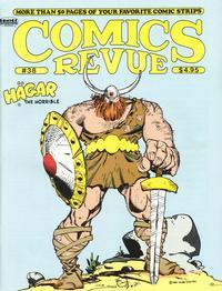 Cover for Comics Revue (Manuscript Press, 1985 series) #38