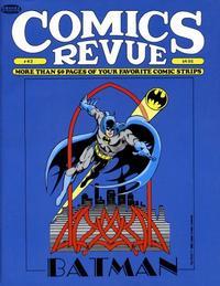 Cover for Comics Revue (Manuscript Press, 1985 series) #43