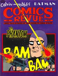 Cover Thumbnail for Comics Revue (Manuscript Press, 1985 series) #48