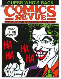 Cover for Comics Revue (Manuscript Press, 1985 series) #49