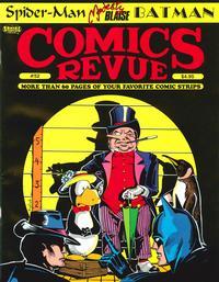 Cover for Comics Revue (Manuscript Press, 1985 series) #52
