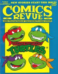 Cover for Comics Revue (Manuscript Press, 1985 series) #60