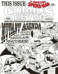Cover for Comics Revue (Manuscript Press, 1985 series) #96