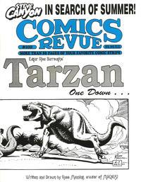 Cover for Comics Revue (Manuscript Press, 1985 series) #102