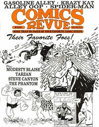 Cover for Comics Revue (Manuscript Press, 1985 series) #103