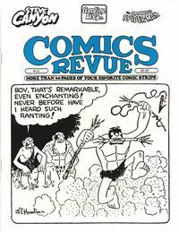 Cover for Comics Revue (Manuscript Press, 1985 series) #121