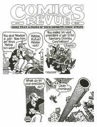 Cover for Comics Revue (Manuscript Press, 1985 series) #143