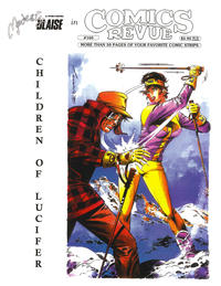 Cover for Comics Revue (Manuscript Press, 1985 series) #160