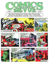 Cover Thumbnail for Comics Revue (Manuscript Press, 1985 series) #161