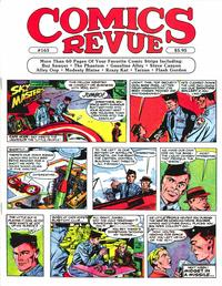 Cover for Comics Revue (Manuscript Press, 1985 series) #163