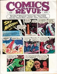 Cover Thumbnail for Comics Revue (Manuscript Press, 1985 series) #187