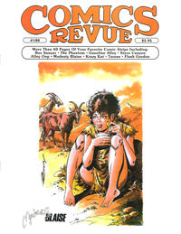 Cover for Comics Revue (Manuscript Press, 1985 series) #188