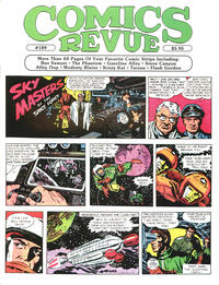 Cover for Comics Revue (Manuscript Press, 1985 series) #189