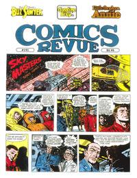 Cover for Comics Revue (Manuscript Press, 1985 series) #191