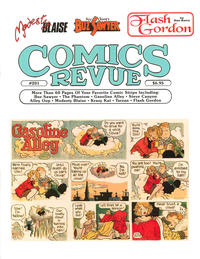 Cover Thumbnail for Comics Revue (Manuscript Press, 1985 series) #201