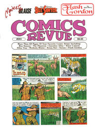 Cover for Comics Revue (Manuscript Press, 1985 series) #203