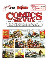 Cover Thumbnail for Comics Revue (Manuscript Press, 1985 series) #204