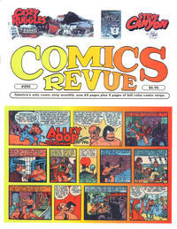 Cover for Comics Revue (Manuscript Press, 1985 series) #205