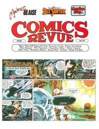 Cover Thumbnail for Comics Revue (Manuscript Press, 1985 series) #206