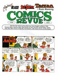 Cover Thumbnail for Comics Revue (Manuscript Press, 1985 series) #219
