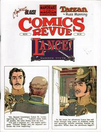 Cover for Comics Revue (Manuscript Press, 1985 series) #235