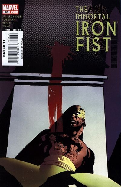Cover for The Immortal Iron Fist (Marvel, 2007 series) #18