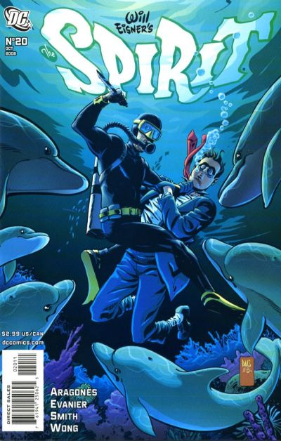 Cover for The Spirit (DC, 2007 series) #20