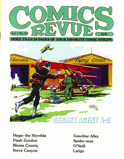 Cover for Comics Revue (Manuscript Press, 1985 series) #11
