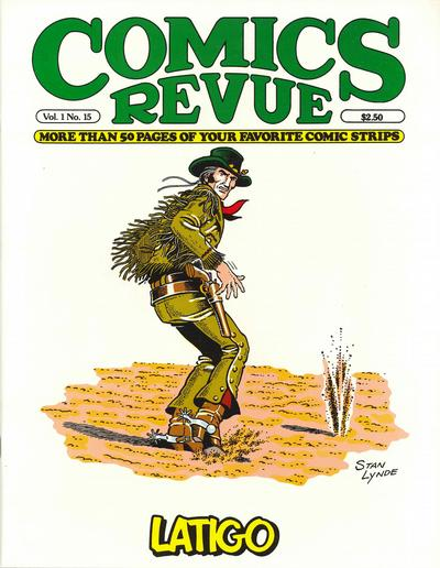 Cover for Comics Revue (Manuscript Press, 1985 series) #15