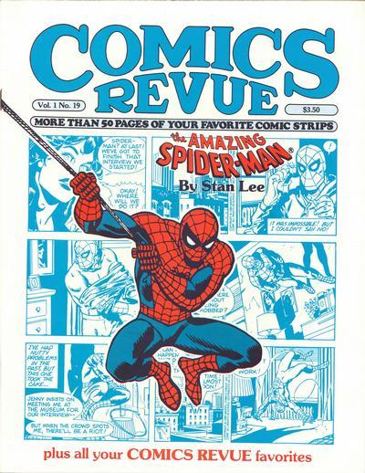 Cover for Comics Revue (Manuscript Press, 1985 series) #19