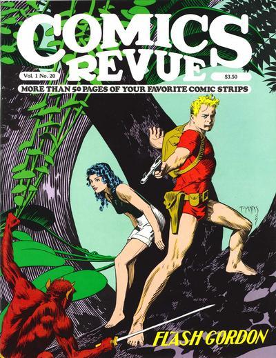 Cover for Comics Revue (Manuscript Press, 1985 series) #20