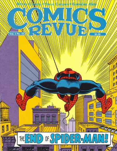 Cover for Comics Revue (Manuscript Press, 1985 series) #23