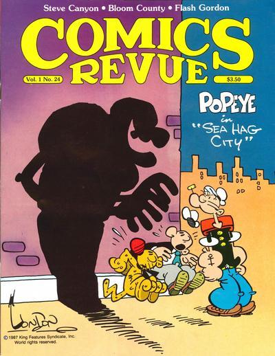 Cover for Comics Revue (Manuscript Press, 1985 series) #24