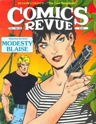 Cover for Comics Revue (Manuscript Press, 1985 series) #26
