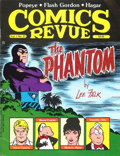 Cover for Comics Revue (Manuscript Press, 1985 series) #27