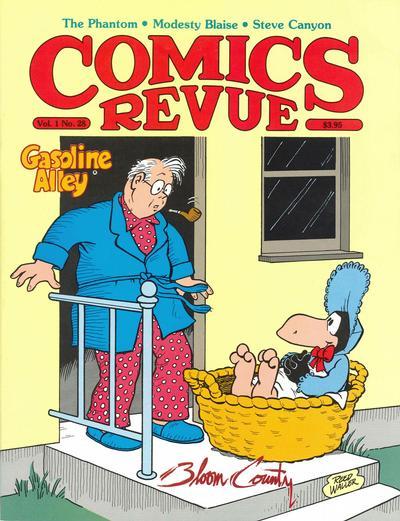 Cover for Comics Revue (Manuscript Press, 1985 series) #28