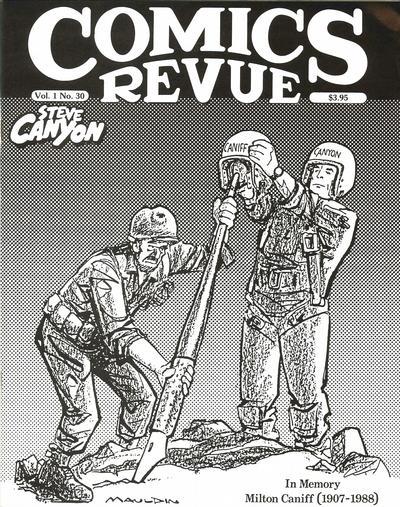 Cover for Comics Revue (Manuscript Press, 1985 series) #30