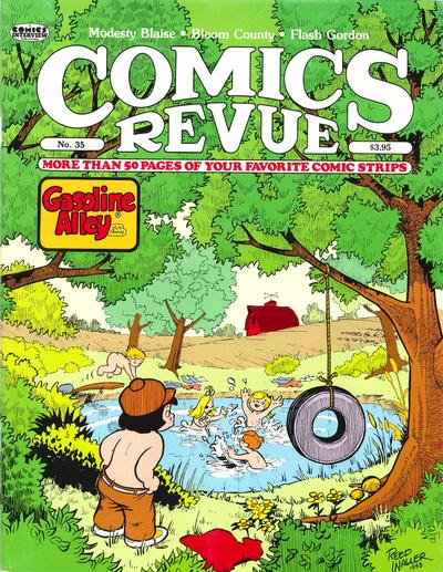 Cover for Comics Revue (Manuscript Press, 1985 series) #35
