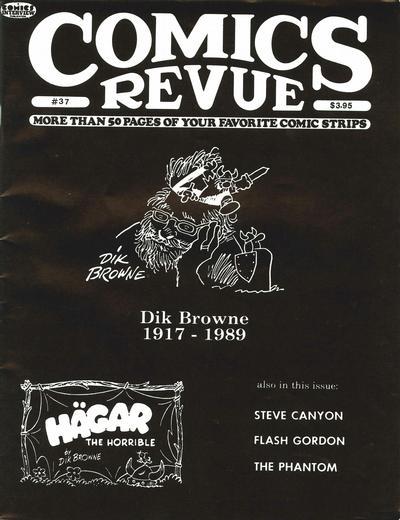 Cover for Comics Revue (Manuscript Press, 1985 series) #37